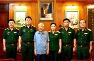黎可漂同志与越南人民军队思想政治建设