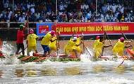 赛龙舟-高棉族同胞独特的体育运动