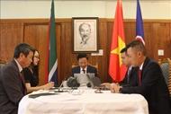 越南驻南非大使就越共十三大结果与南非共产党交谈