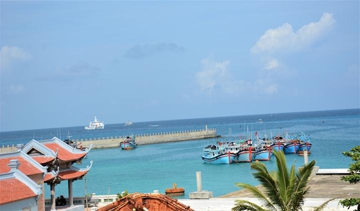 平安的越南长沙岛