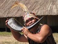 戈都族人的特色感谢森林典礼
