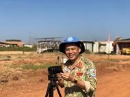 """在南苏丹的""""特殊""""记者"""