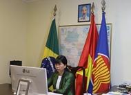 力推东盟与巴西之间的形象宣传和贸易促进活动