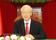 越共中央总书记阮富仲将出席中国共产党与世界政党领导人峰会
