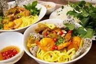 通过直播节目探索岘港市特色美食