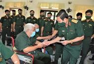 阮新疆上将走访慰问维仙伤残军人疗养中心