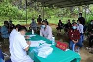 莱州省在边境地区开展新冠疫苗接种