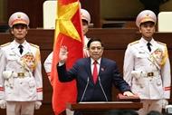 范明政同志继续被推选为政府总理
