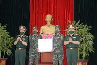 炮兵兵种为参加2021年国际军事比赛的赛队举行出征仪式