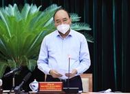 阮春福:胡志明市既要保持社交距离又要关注做好民生保障工作