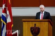 古巴国家主席迪亚斯·卡内尔感谢越南和国际友人对古巴的支援