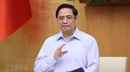 越南政府总理范明政致公开信激励抗疫一线人员