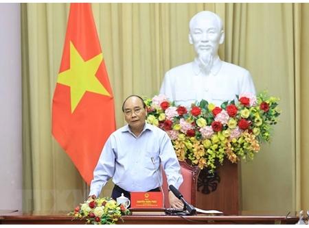 国家主席阮春福:纺织服装业是疫情后助推经济复苏的拳头产业