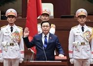 柬埔寨国会主席韩桑林致信祝贺王廷惠被选为越南国会主席