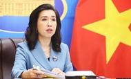 越南外交部发言人就中国正式施行新《海上交通安全法》一事做出回应