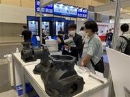 越南企业在2021年大阪机械要素技术展上颇受关注