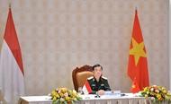 越南与印尼第二次国防政策对话以视频方式举行
