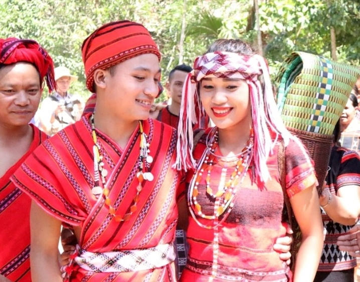 帕古族人的传统婚礼