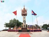 ເປີດສະຫຼອງອະນຸສາວະລີມິດຕະພາບຫວຽດນາມ - ກຳປູເຈຍ ຢູ່ແຂວງ Kampong Cham