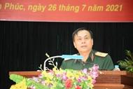 ຈັດພິທີສົ່ງຄະນະທີມປືນໃຫຍ່ເດີນທາງເຂົ້າຮ່ວມ Army Games 2021