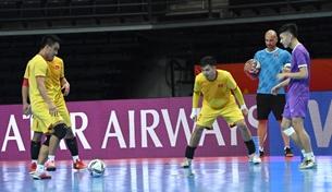 ທີມ futsal ຫວຽດນາມ ຕັດສິນໃຈລອດເຂົ້າຮອບ 1/8 World Cup