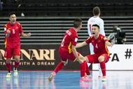 ທີມ futsal ຫວຽດນາມ ເຂົ້າຮອບ 1/8 World Cup