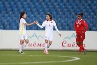 ທີມບານເຕະຍິງຫວຽດນາມ ຊະນະທີມ Maldives 16-0 ປະຕູ