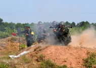 Artillery team active in training for 2021 Army Games