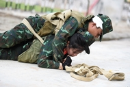 Servicewomen train for Army Games 2021