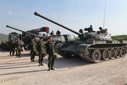Vietnamese tank team training hard for Army Games
