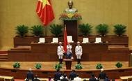 Lao NA Chairman sends congratulations to Vietnamese counterpart