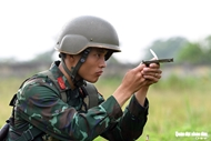 Vietnamese topographers in training for Army Games 2021