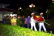 Dien Bien Phu authorities and people pay tribute to war martyrs