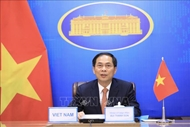 Lao Minister of Foreign Affairs congratulates Vietnamese counterpart