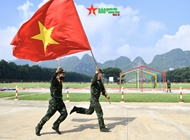 Vietnamese sniper troops perform well at Army Games 2021