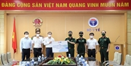 Military Bank donates 1 million N95 medical masks to Ministry of Health
