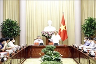 President holds working session on handling capital punishment dossiers
