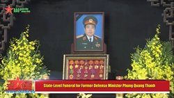 State-Level Funeral for Former Defense Minister Phung Quang Thanh