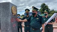 Preparation for first Vietnam – Laos Border Defense Friendship Exchange checked
