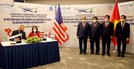 President witnesses deal signing between Bamboo Airways and General Electric