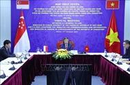 Vietnam, Singapore discuss enhancing cyber security ties