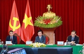 Vietnamese, Lao Party officials hold online talks