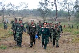 Quân khu 5 chuẩn bị cho rút kinh nghiệm xây dựng trường bắn