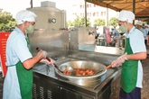 Triển khai lắp đặt hệ thống bếp điện, bếp dầu trong nhà ăn quân đội đảm bảo chất lượng, an toàn, hiệu quả