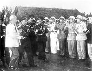 在当今建设与捍卫社会主义祖国事业中人民军队的建立与胡伯伯部队本质和传统的发扬