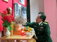 第二军团博物馆中的武元甲大将塑像