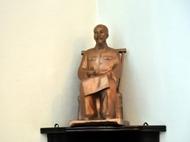 在意大利米兰市安放胡志明主席铜像